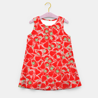 Strawberry Summer Girl's summer dress thumbnail image