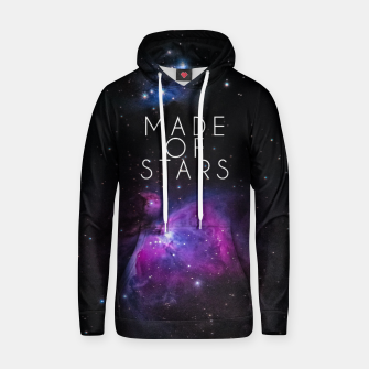 Made of Stars Cotton hoodie thumbnail image