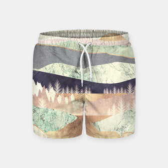 Miniatur Golden Spring Reflection Swim Shorts, Live Heroes