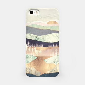 Golden Spring Reflection iPhone Case thumbnail image
