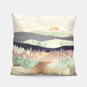 Miniaturka Golden Spring Reflection Pillow, Live Heroes