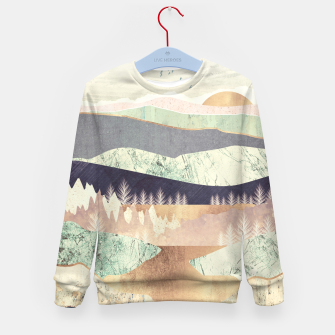 Golden Spring Reflection Kid's sweater thumbnail image