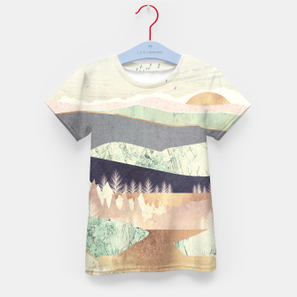 Golden Spring Reflection Kid's t-shirt thumbnail image