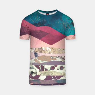 Magenta Mountain T-shirt miniature