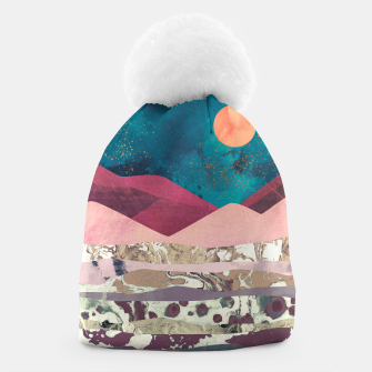 Magenta Mountain Beanie miniature