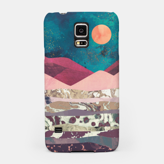 Magenta Mountain Samsung Case miniature