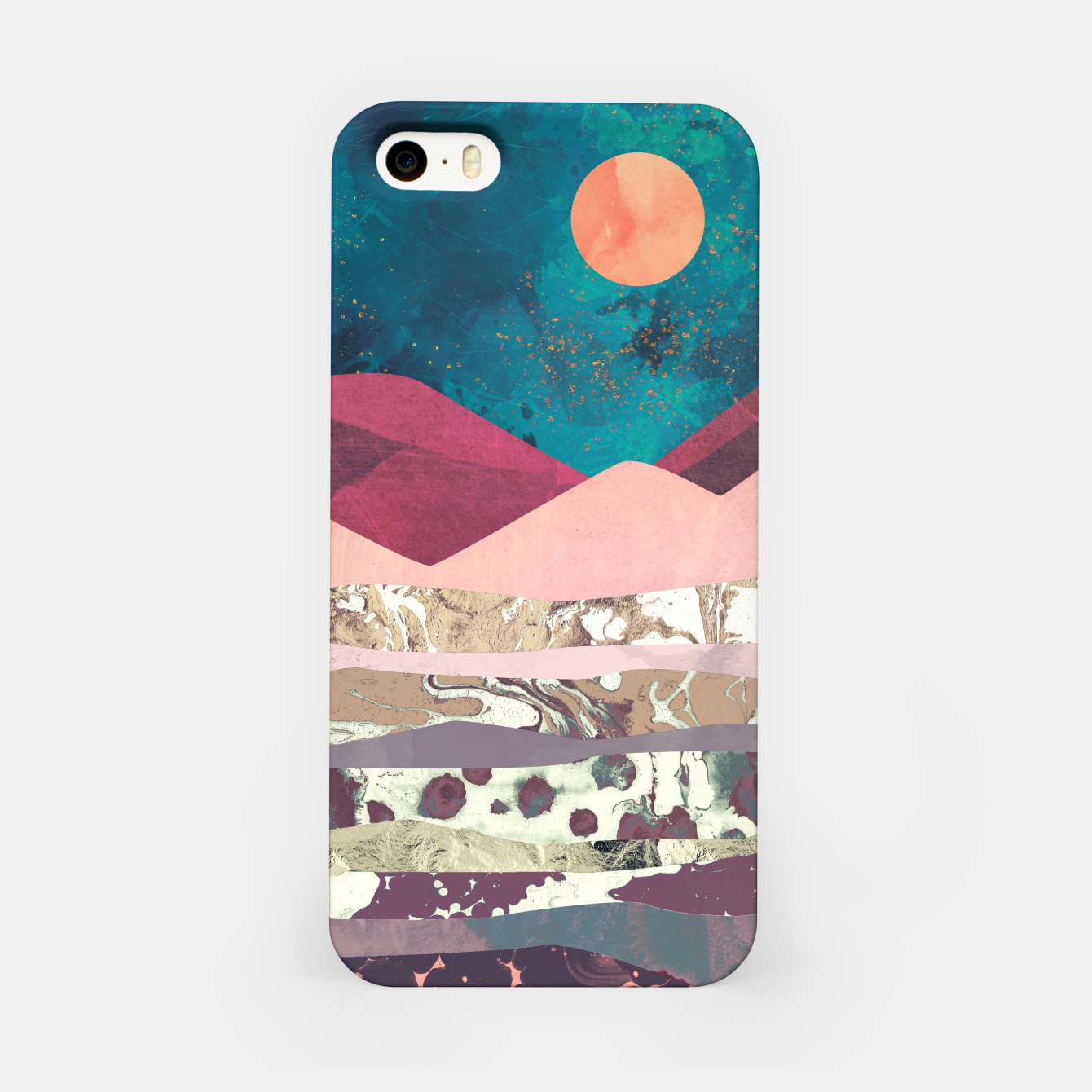 Image de Magenta Mountain iPhone Case - Live Heroes