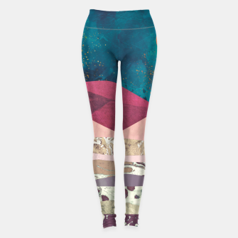 Magenta Mountain Leggings Bild der Miniatur