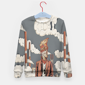 Thumbnail image of Factory Kid's sweater, Live Heroes