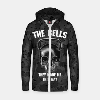 The Bells They Made This Way Cotton zip up hoodie thumbnail image