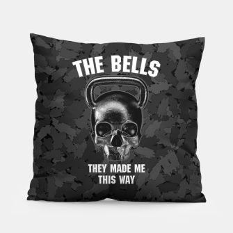 Thumbnail image of The Bells They Made This Way Pillow, Live Heroes