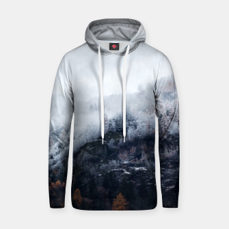 Miniature de image de On the Verge of Winter Cotton hoodie, Live Heroes