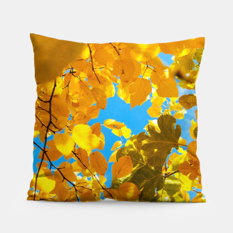 Thumbnail image of Autumn Veil Pillow, Live Heroes