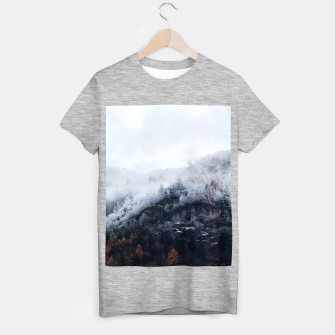 Thumbnail image of On the Verge of Winter T-shirt regular, Live Heroes