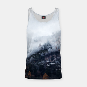 Thumbnail image of On the Verge of Winter Tank Top, Live Heroes