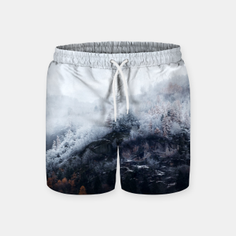 Miniatur On the Verge of Winter Swim Shorts, Live Heroes