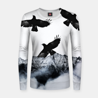 Thumbnail image of Ravens Woman cotton sweater, Live Heroes