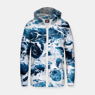 Thumbnail image of Tropical X Cotton zip up hoodie, Live Heroes