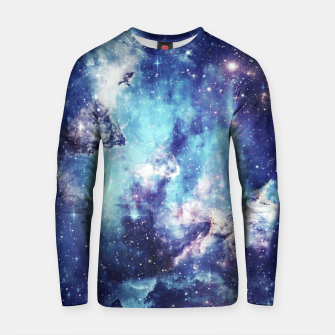 Miniaturka Galaxy blue black Cotton sweater, Live Heroes