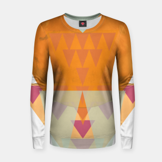 Miniatur Sitting on Mars Woman cotton sweater, Live Heroes