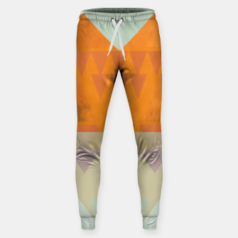 Miniatur Sitting on Mars Cotton sweatpants, Live Heroes