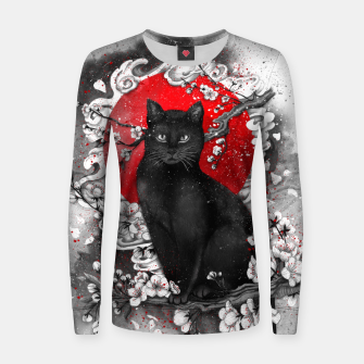 Thumbnail image of cat Woman cotton sweater, Live Heroes