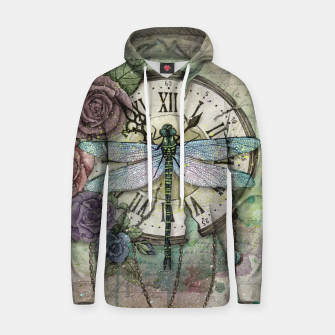 Miniature de image de Time Flies Cotton hoodie, Live Heroes