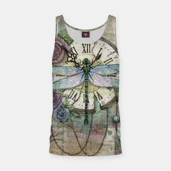 Thumbnail image of Time Flies Tank Top, Live Heroes