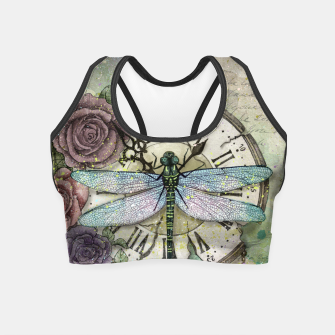 Thumbnail image of Time Flies Crop Top, Live Heroes