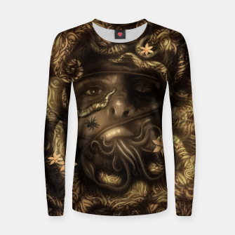 Thumbnail image of Rope Woman cotton sweater, Live Heroes