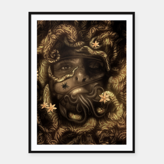Thumbnail image of Rope Framed poster, Live Heroes