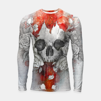 Thumbnail image of Let New life be Longsleeve rashguard , Live Heroes
