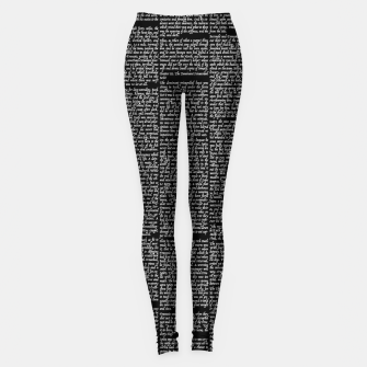 Thumbnail image of The Call of the Wild Leggings, Live Heroes