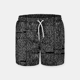 Thumbnail image of The Call of the Wild Swim Shorts, Live Heroes