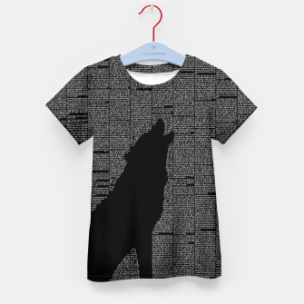 Thumbnail image of The Call of the Wild Kid's t-shirt, Live Heroes