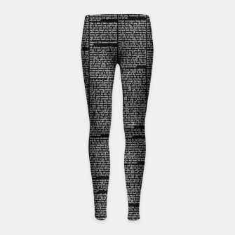 Thumbnail image of The Call of the Wild Girl's leggings, Live Heroes