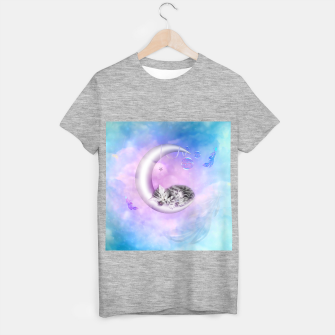 Cute little sleeping kitten T-shirt regular thumbnail image
