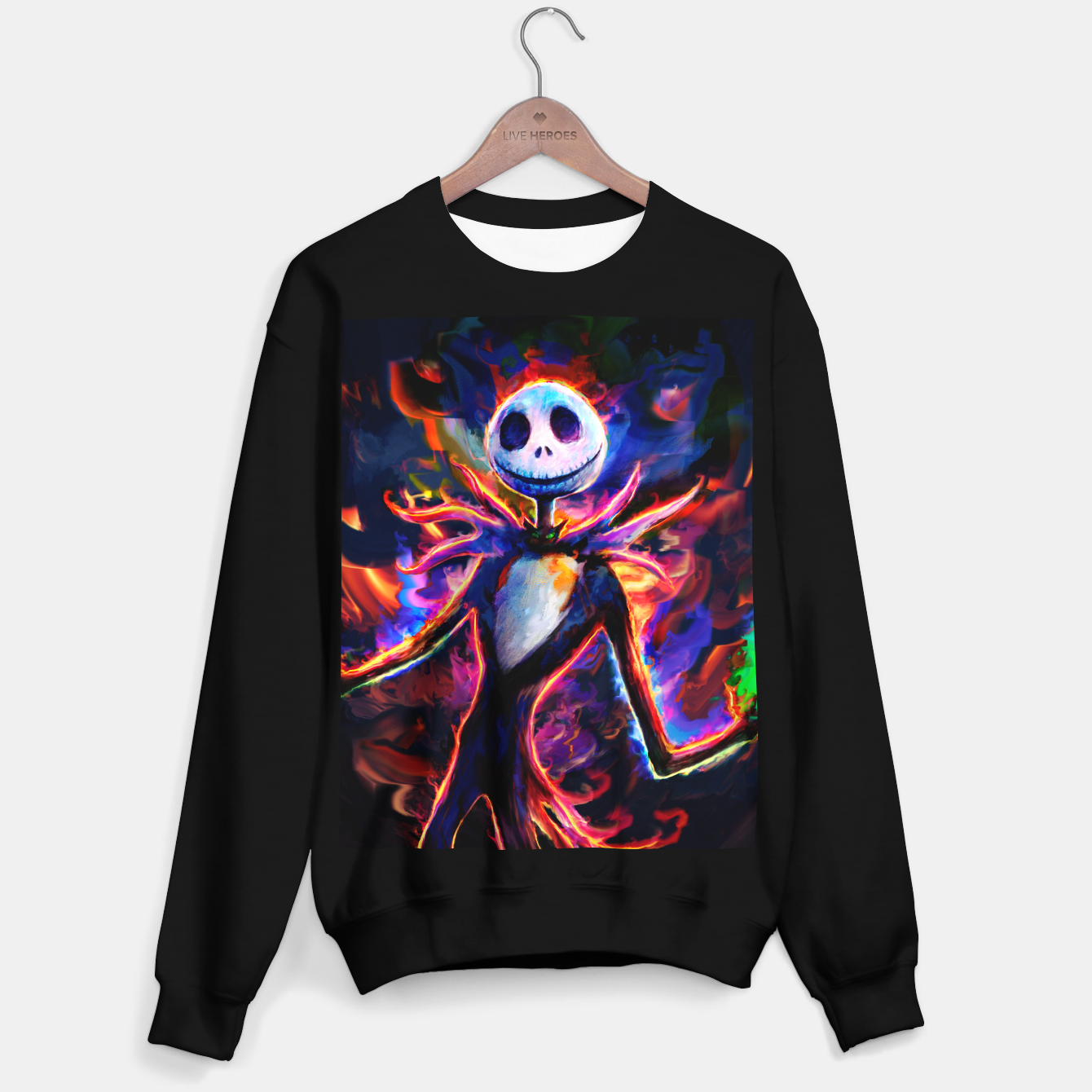 nightmare before christmas Sweater regular, Live Heroes