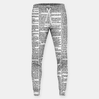 Thumbnail image of The Great Gatsby Cotton sweatpants, Live Heroes