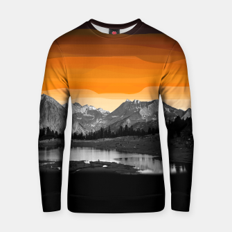 Miniaturka landscape orange mountains  Cotton sweater, Live Heroes