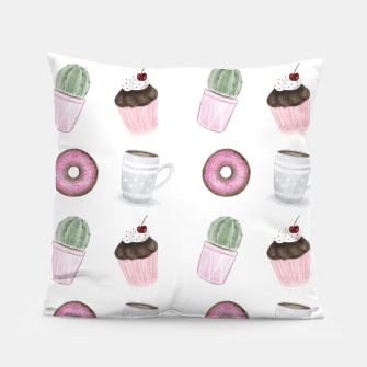 Thumbnail image of Sweet Pattern - Cactus, Donuts, Cupcakes, Coffee, Live Heroes