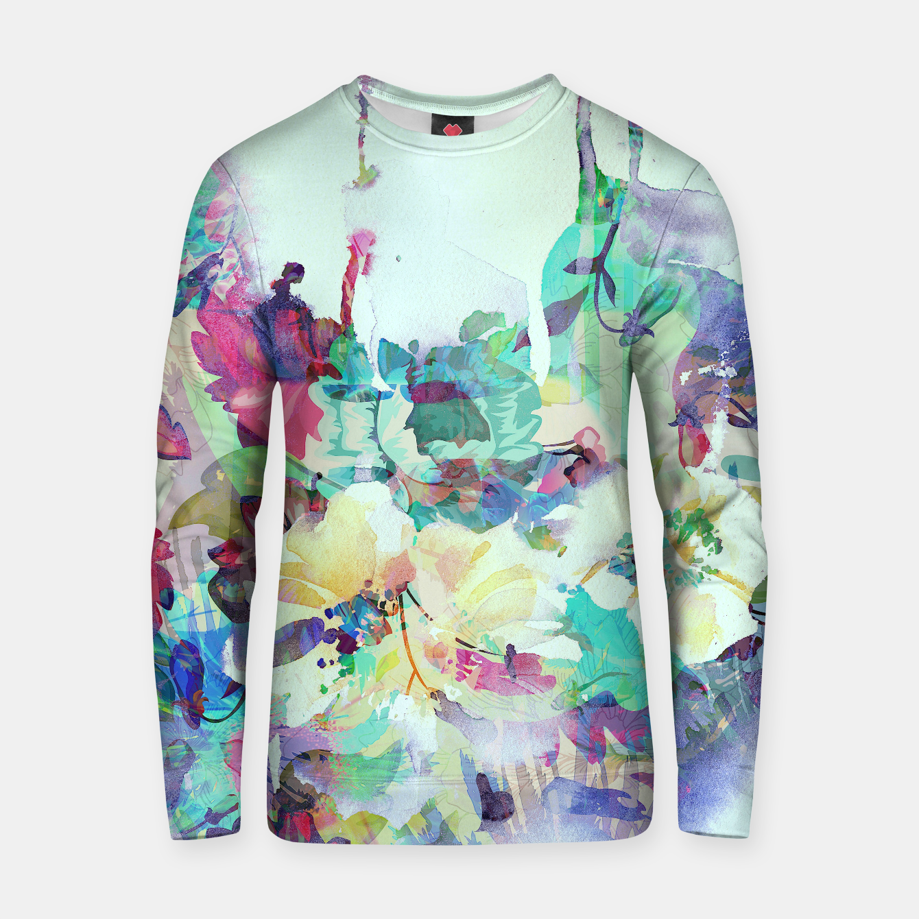 Image of Teardrop Blues Cotton sweater - Live Heroes