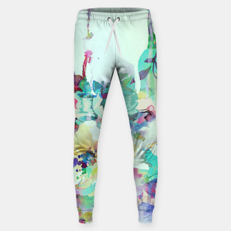 Thumbnail image of Teardrop Blues Cotton sweatpants, Live Heroes