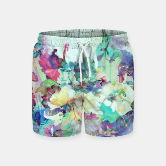 Thumbnail image of Teardrop Blues Swim Shorts, Live Heroes