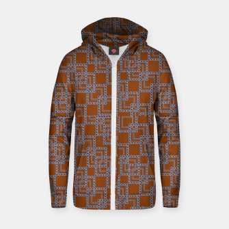 Thumbnail image of Textile Deluxe Cotton zip up hoodie, Live Heroes
