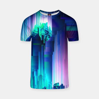 Thumbnail image of Glitches Be Trippin' - Abstract Pixel Art T-shirt, Live Heroes
