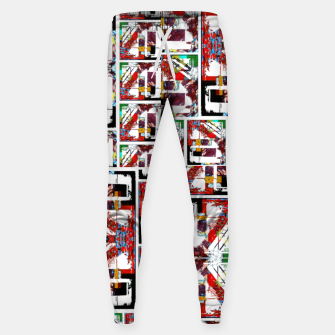 Thumbnail image of Abstract stair case  Cotton sweatpants, Live Heroes