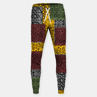 Thumbnail image of F10 Desoign Cotton sweatpants, Live Heroes