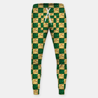Thumbnail image of Green elite  Cotton sweatpants, Live Heroes