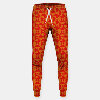 Thumbnail image of Pattern One Original  Cotton sweatpants, Live Heroes
